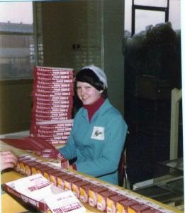 Valerie at work